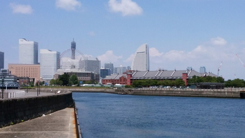 Minato mirai means future port in English.  It has museums, event halls, shopping centers, and restaurant.