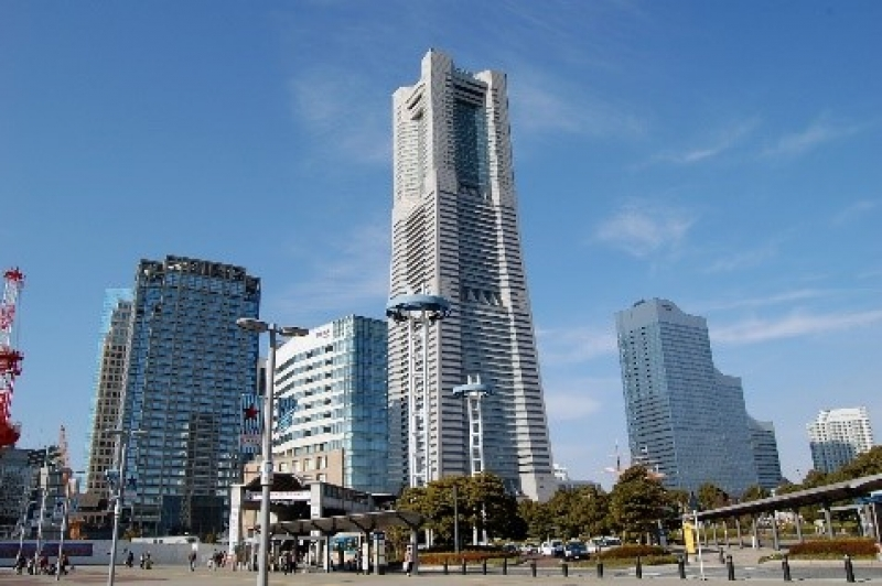 Landmark tower,  the height of 296 meters with 70 story building.