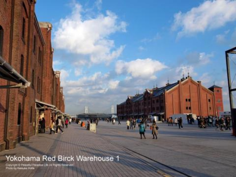 Storeroom built more than 100 years ago consist of two buildings used with red bricks.
