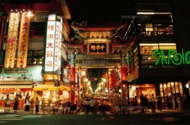 More than 300 restaurants and variety shops are lined in China town.