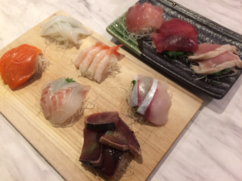 You can make a variety of sushi