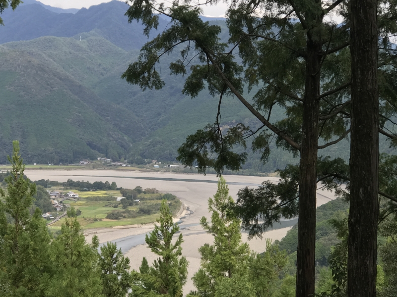 Kumano river designated as a world heritage