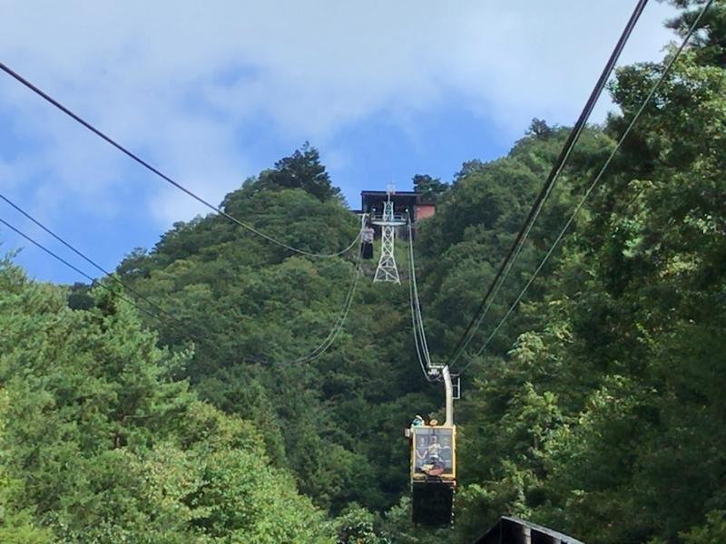 Mt. Fuji Panoramic Ropeway to Mt. Tenjo