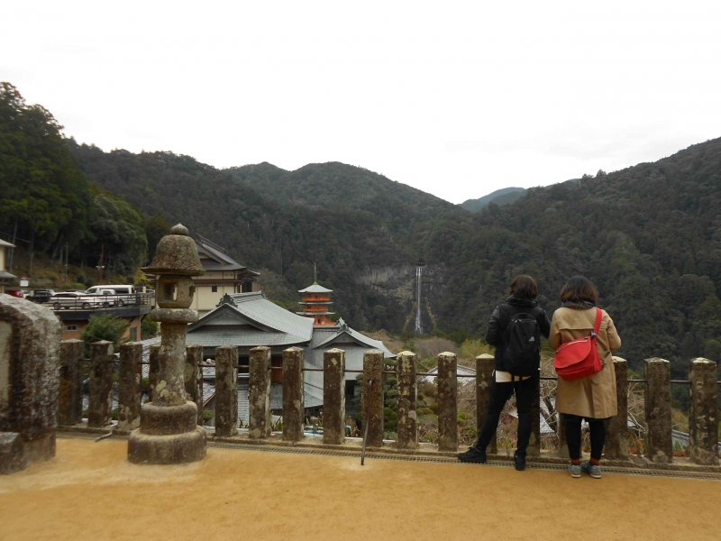 A view from Seiganto temple/Nachi grand shrine.