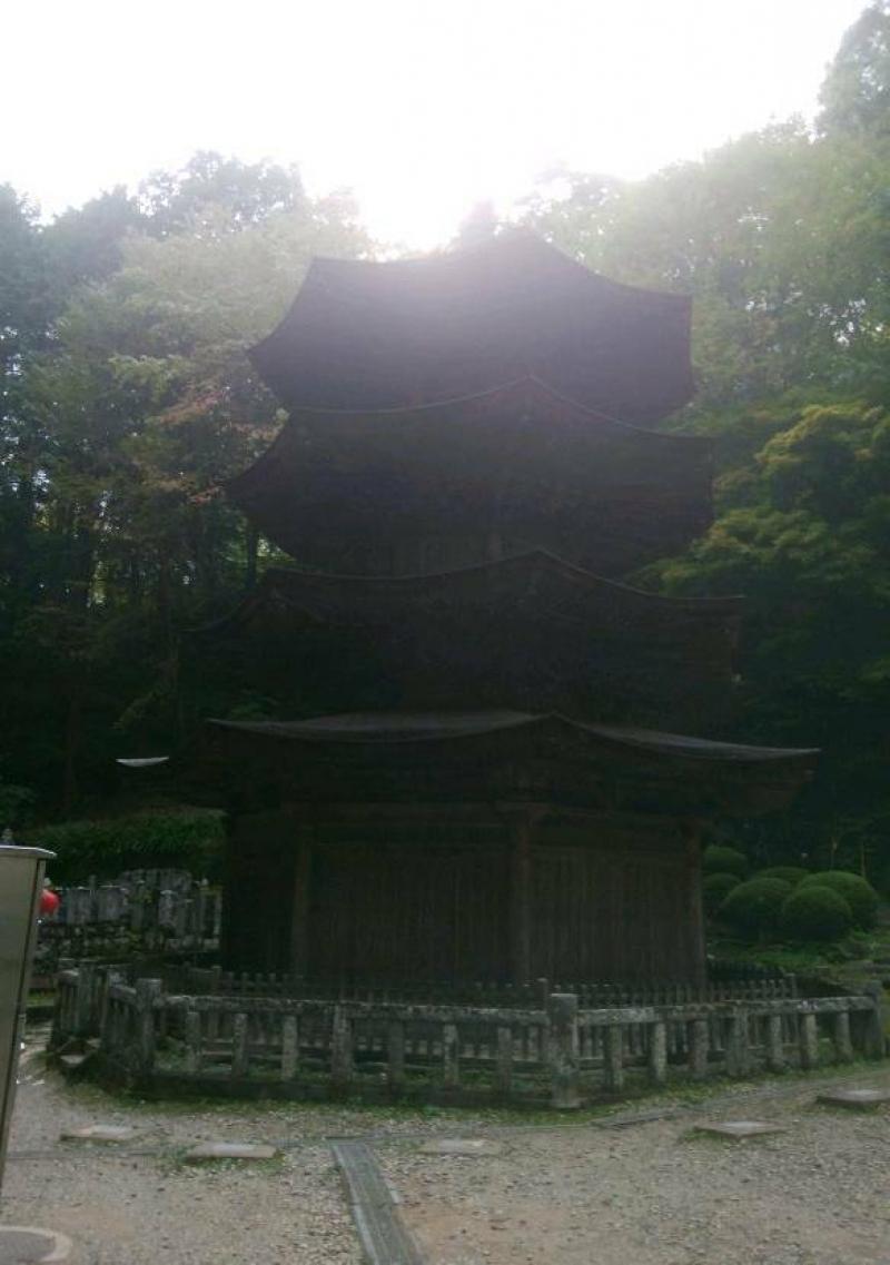 Pagoda of Anrakuji temple