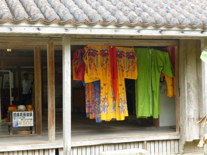 At YAIMA village, you can try traditional Okinawa KIMONO called