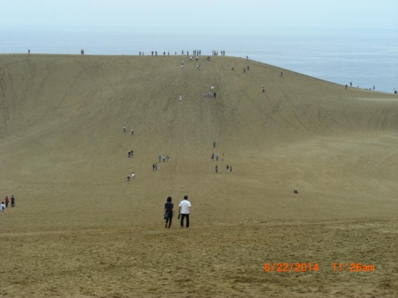 Tottori Sand Dunes.