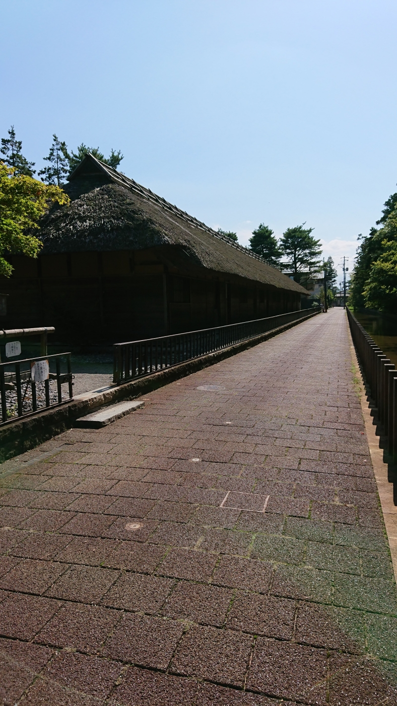 Ashigaru Nagaya Foot Soldier Samurai Residence