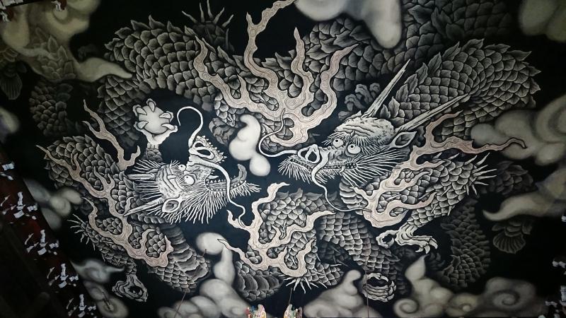 Dragon on the ceiling (Kenninji Temple)