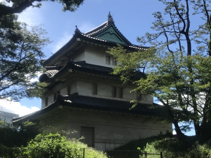 Imperial Palace East Gardens : Fujimi Watch Tower