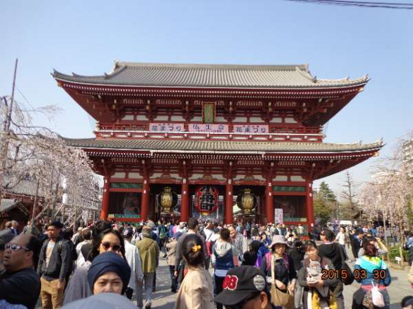 Sensoji Temple at Asakusa