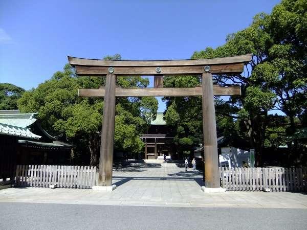 Meiji Jingu (Meiji Shrine) 's gate
