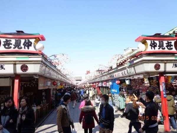 Asakusa - Nakamise Shopping Street of Sensoji Temple