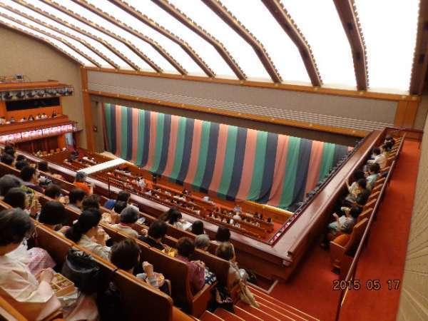 Kabukiza Theater 3F  (in Ginza)