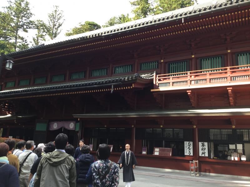 Rinno-Ji Temple (The Goma-Do where you can see many Myo-O; avatar of Buddha)