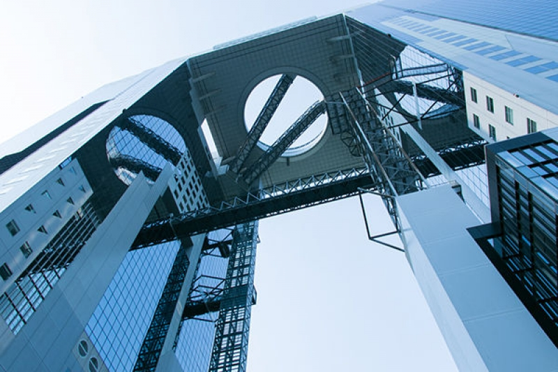 Umeda Sky Building: one of the most popular high-rises in Osaka