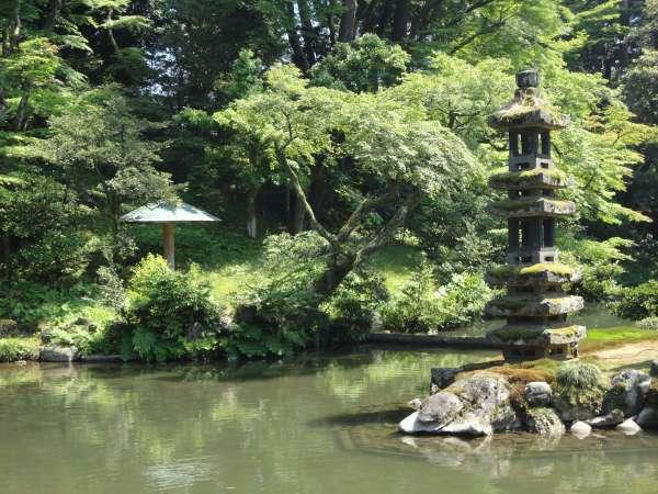 Hisago Pond in Kenrokuen
