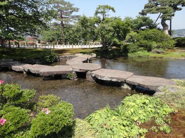Gankobashi in Kenrokuen