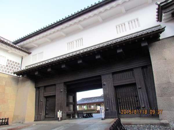 The gate of Kazazawa Castle