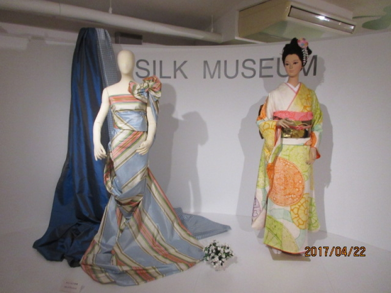 Yokohama Silk Museum - explains everything about silk.