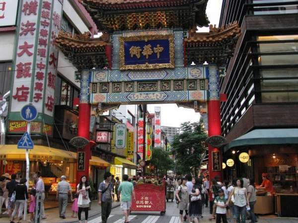 Yokohama- China Town - one of the biggest china towns in the world.