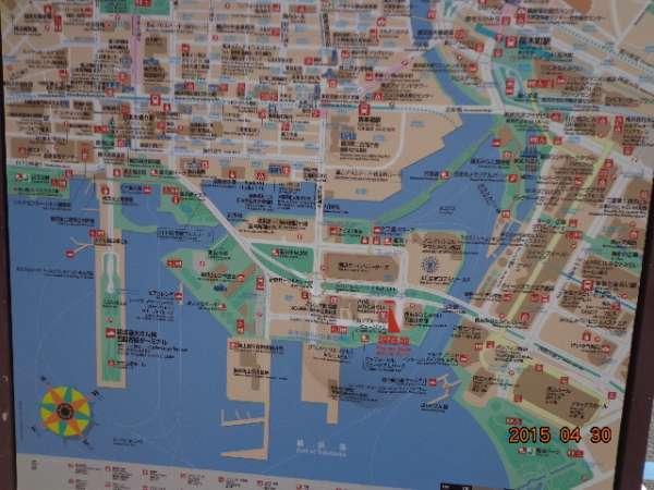 Yokohama - CupNoodles Museum_map