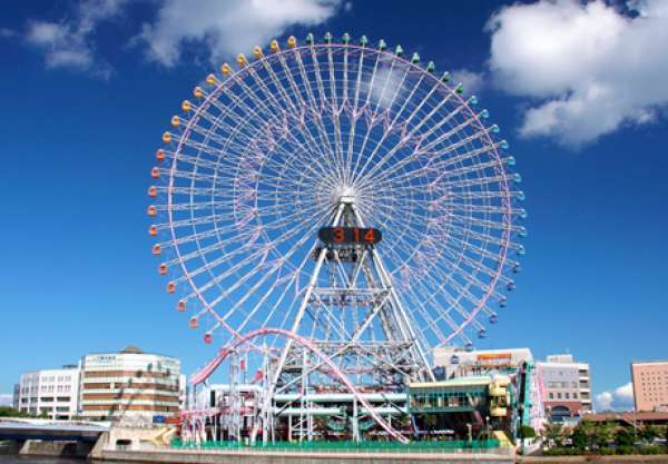 Yokohama - CosmoClock21@YokohamaCosmoWorld (113m in height, a giant Ferris wheel)