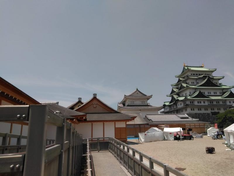 Nagoya Castle and Honmaru palace