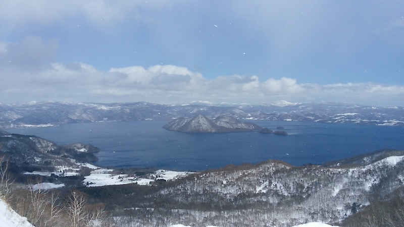 Lake Toya  ― the ever-changing nature