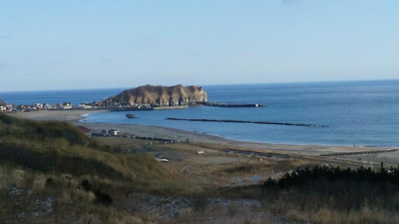 Itanki Beach, singing sand beach