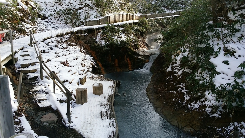 Oyunuma Brook Natural Footbath