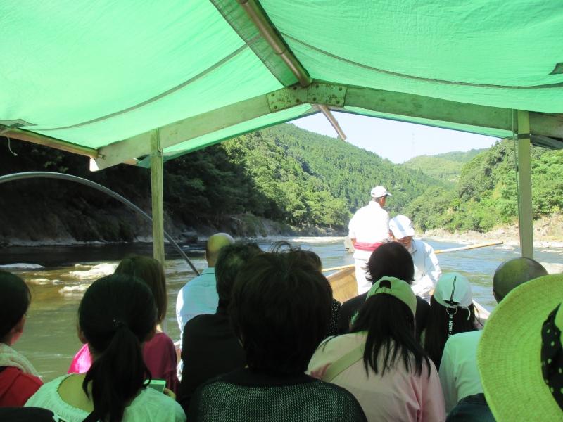 Hozugawa River Boat Riding