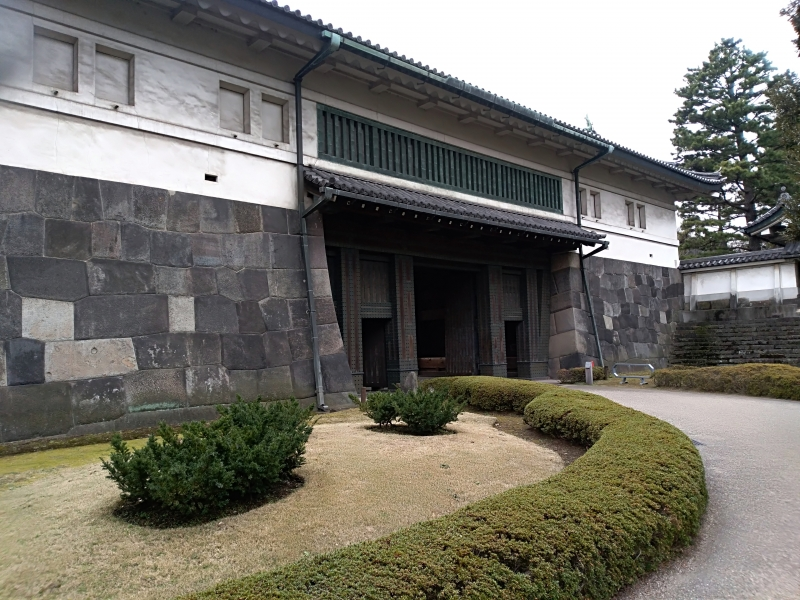 One of the gates at the Imperial palace