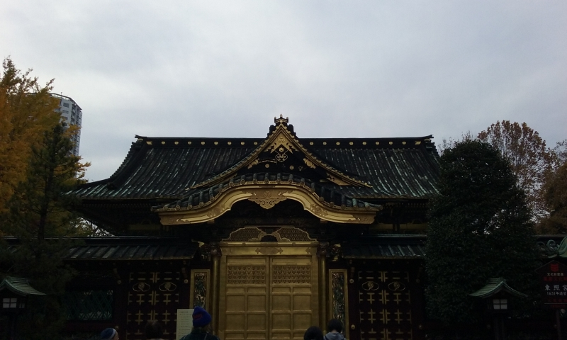Toshogu shrine at Ueno park
