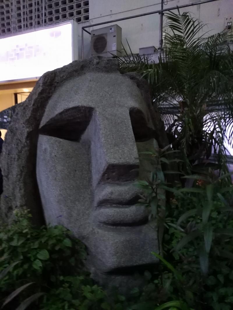 Moai at Shibuya