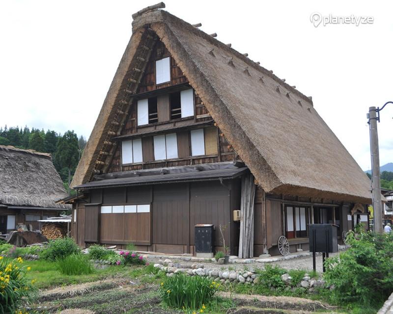 """Shirakawago """"gassho-zukuri"""" house"""