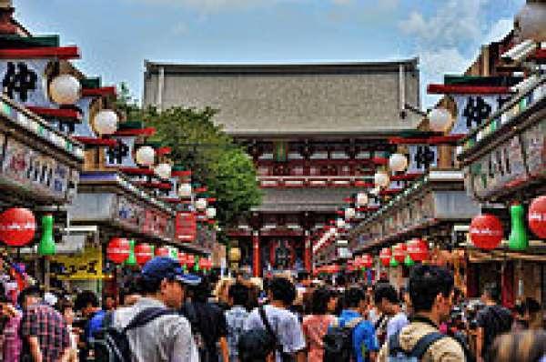 Asakusa Templo Sensou-ji