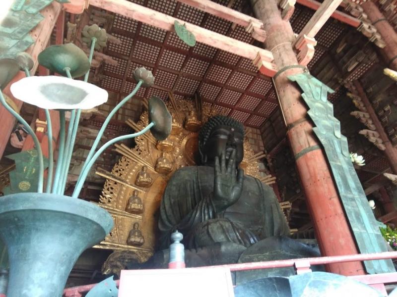 Todaiji Temple:Image of Great Buddha