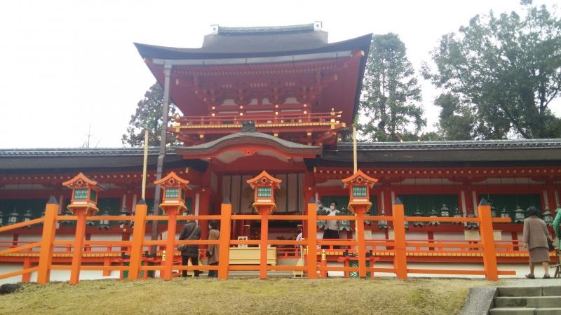 Kasuga Taisha Shrine : Main enterance