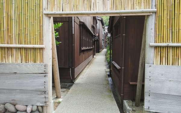 Entrance of Shukunegi village