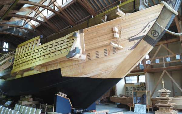 Inside the Hakusan-maru ship museum
