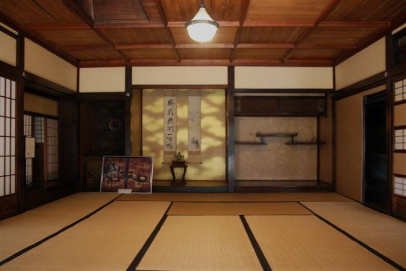 Nijo Jinya House, it's nicknamed Ninja-house because of many tricks.
