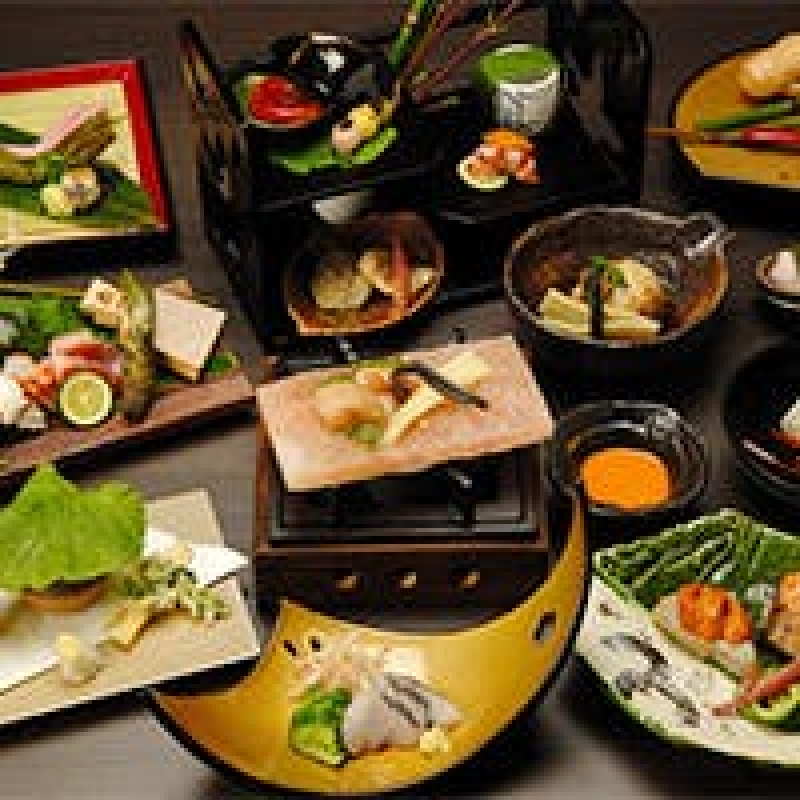 Japanese Dinner (Kyoto  Kaiseki Cuisine in Ponto-Cho)
