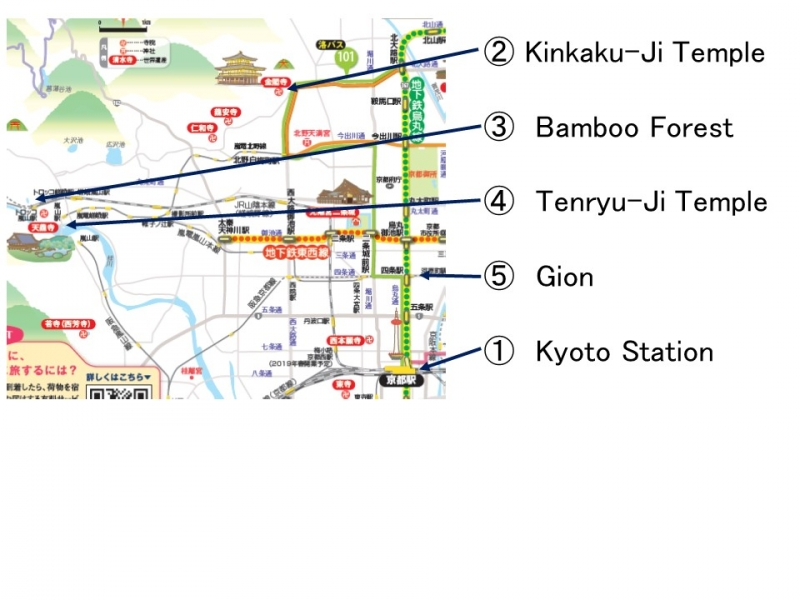 Route of the 1st Day