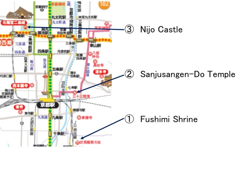 Route of the 2nd Day