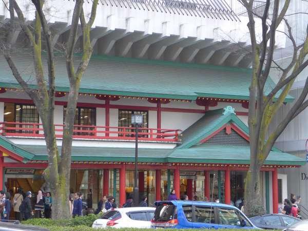 The most popular souvenir shop in Omotesando.