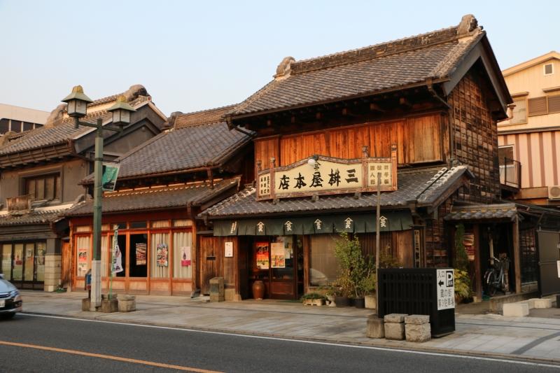 Tochigi city a little Edo & warehouse town.