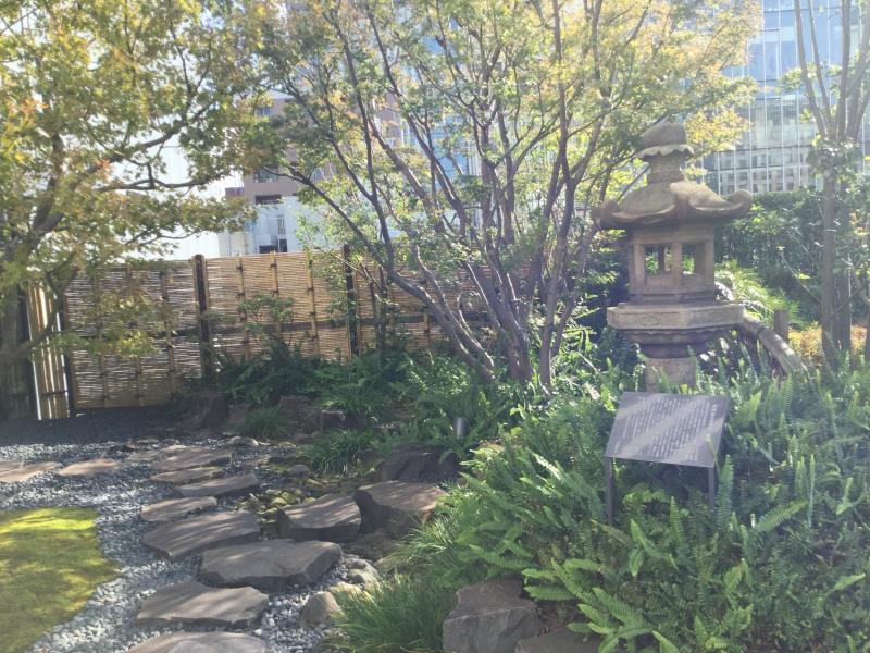 Rooftop terrace of Kabukiza