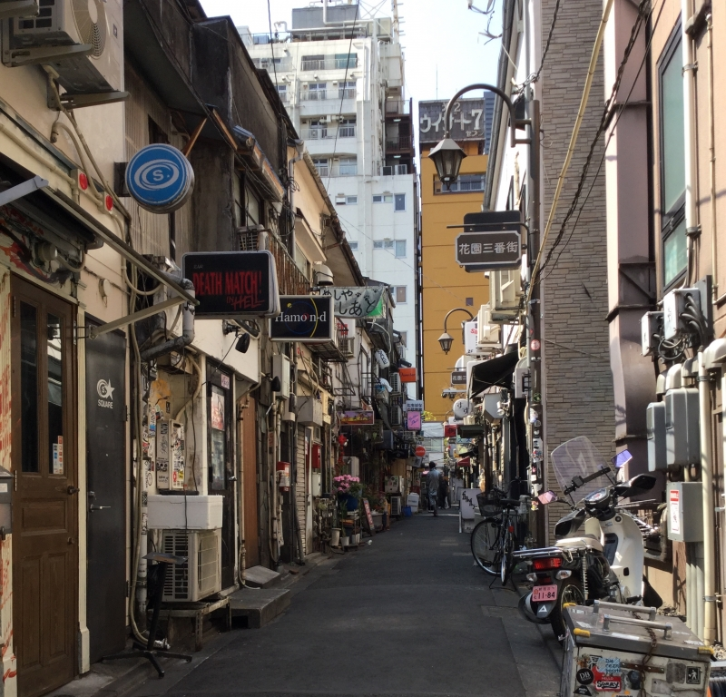 Golden-Gai in the daytime
