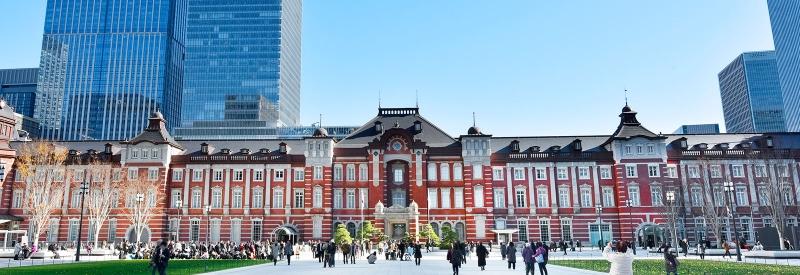 红砖建筑东京站